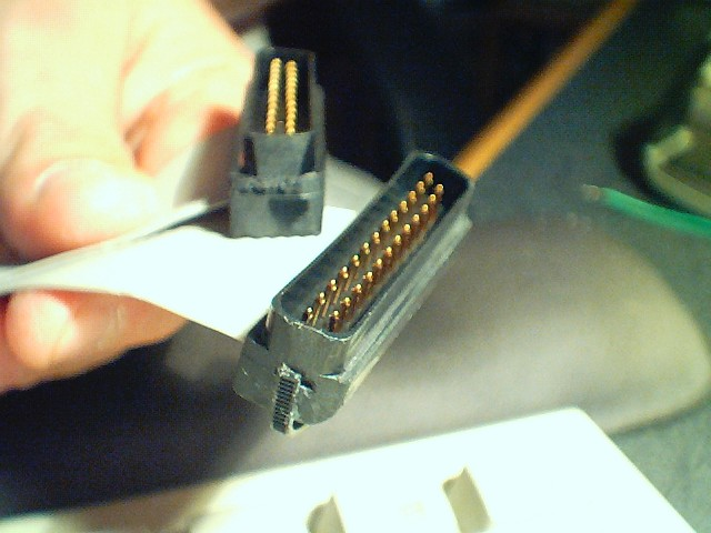My Home Made SX-64 Keyboard Cable